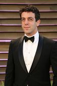 LOS ANGELES - MAR 2:  BJ Novak at the 2014 Vanity Fair Oscar Party at the Sunset Boulevard on March 2, 2014 in West Hollywood, CA