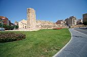 Tower Era Of Ancient Rome In Tarragona, Spain