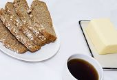 Bread Butter And Coffee