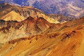 stock photo of jammu kashmir  - Brown colourful rocks and stones  - JPG