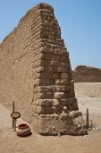 stock photo of chan  - Remains of the historic city of Chan Chan near Trujillo in Peru - JPG