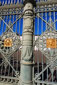 image of turin  - Detail of the gate  - JPG
