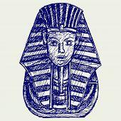 image of pharaoh  - Portrait of Pharaoh - JPG
