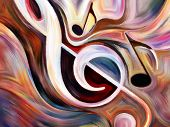 stock photo of  art  - Inner Melody series - JPG