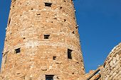 pic of observed  - Famous observation lookout tower at the Desert View Point at the South Rim of the Grand Canyon - JPG