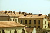 Medieval Architecture Bonifacio Corsica poster
