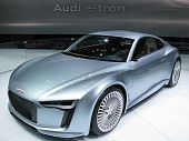 2010 Audi e-tron Electric Concept Car