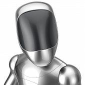picture of cyborg  - Robot futuristic cyborg concept - JPG
