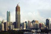 China, Shenzhen City Wolkenkratzer