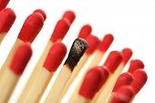 stock photo of underdog  - Isolated Match - JPG