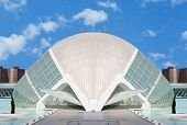 Hemisferic Art and Science Center in Valencia, Spain
