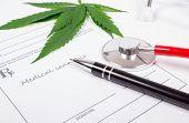 A Prescription For Medical Marijuana. poster