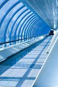 vanishing hall indoor metro station