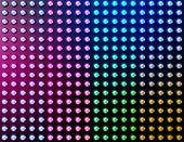 Led lights effect background