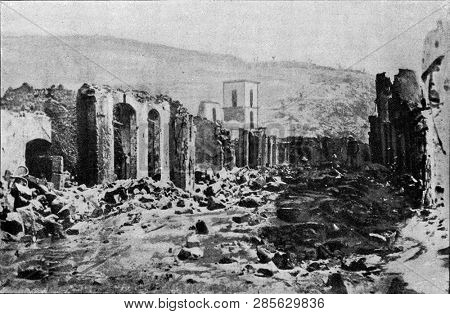 St Peter after the eruption