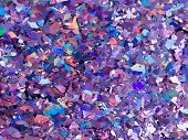 Violet And Purple Sparkles. Purple Glitter Background. Pink Background. Elegant Abstract Background  poster