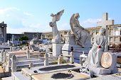 Cemetery In Cienfuegos, Cuba