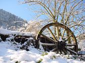 Winter In Koenigsee. Germany, Bayern.