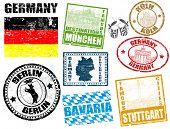 Briefmarken mit Deutschland