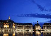 Place De La Bourse In Bordeaux In France