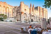 Avignon Pope Palace, France.