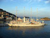 Cruise Ship Off Kusadasi