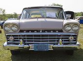1959 Pink Rambler Grill View