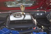 1969 Ford Mustang Mach 1 Engine
