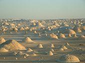 Постер, плакат: Белая пустыня сахара Эль Beyda Фарафра в Египте