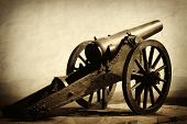 Old army gun
