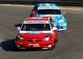 Btcc Vauxhall Vectra And Chevrolet Lacetti