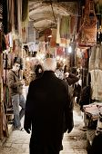 JERUSALEM - FEBRUARY 11: The Shoppers at the Suq February 11, 2012 in Jerusalem, IL. Suqs are tradit