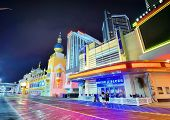 ATLANTIC CITY, NJ -  SEPTEMBER 8: Casinos on September 8, 2012 in Atlantic City, New Jersey. Gamblin
