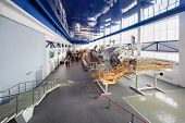 STAR TOWN - FEBRUARY 4: Big simulators in Cosmonaut Training Center named of Gagarin on February 4,