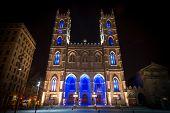 The Notre-Dame Basilica.