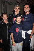 LOS ANGELES - OCT 6:  Son's Date, Don Diamont, sons attends the Light The Night Walk to benefit The