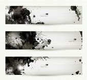 picture of dripping  - Abstract grunge artistic headers - JPG