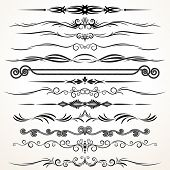 picture of divider  - Vector Design Elements - JPG