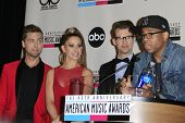 LOS ANGELES - OCT 9: Lance Bass, Brad Goreski, Kimberly Cole, Tristan Wilds at the 40th Anniversary