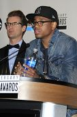 LOS ANGELES - OCT 9: Brad Goreski, Tristan Wilds at the 40th Anniversary American Music Awards nomin