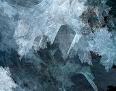 Abstract Background (resembling Crystals)