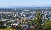 The Freemont Bridge Portland Oregon.