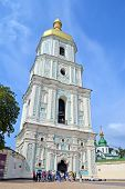 Kiev, Ukraine - Jul 27: Saint Sophia's Cathedrall On July 27, 2013 In Kiev, Ukraine.