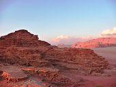 Early evening in Wadi Rum, Jordan