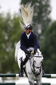 25/06/2011 HICKSTEAD ENGLAND, CENTRO ridden by Torben  K�?�?�?�¡hlbrandt (GER) competing in the