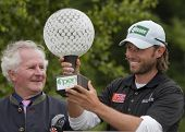 SAINT-OMER, FRANCE. 20-06-2010, Martin Wiegele (AUT) winning  the European Tour, 14th Open de Saint-