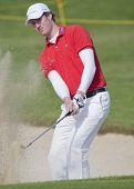 SAINT-OMER, FRANCE. 17-06-2010, Will Besseling (NED) on the first day of the European Tour, 14th Open de Saint-Omer, part of the Race to Dubai tournament and played at the AA Saint-Omer Golf Club .