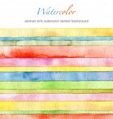 foto of strip  - Abstract  strip watercolor painted background - JPG