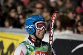 SOELDEN AUSTRIA OCT 26,  Benni Raich AUT competing in the mens giant slalom race at the Rettenbach G