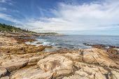Rocky Ocean Shore